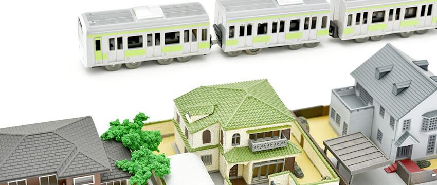 理想の街に住むイメージ